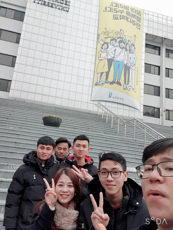 Thông báo tuyển sinh du học Hàn Quốc 2020